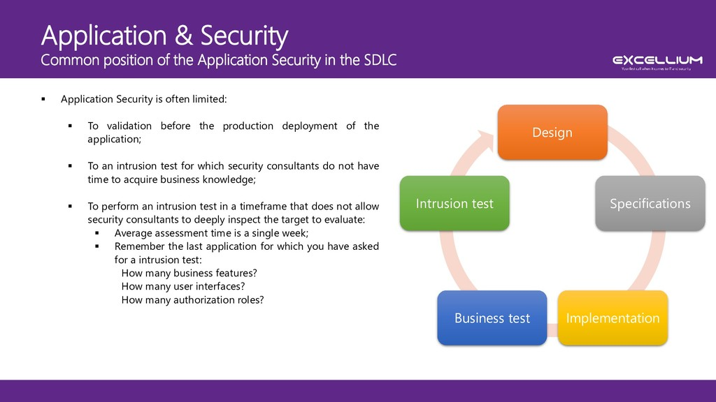 Application & Security Common position of the A...
