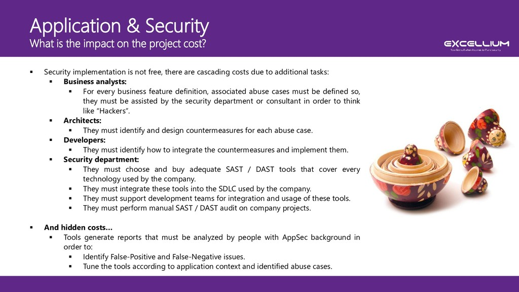Application & Security What is the impact on th...