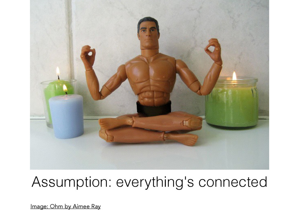 Assumption: everything's connected Image: Ohm b...