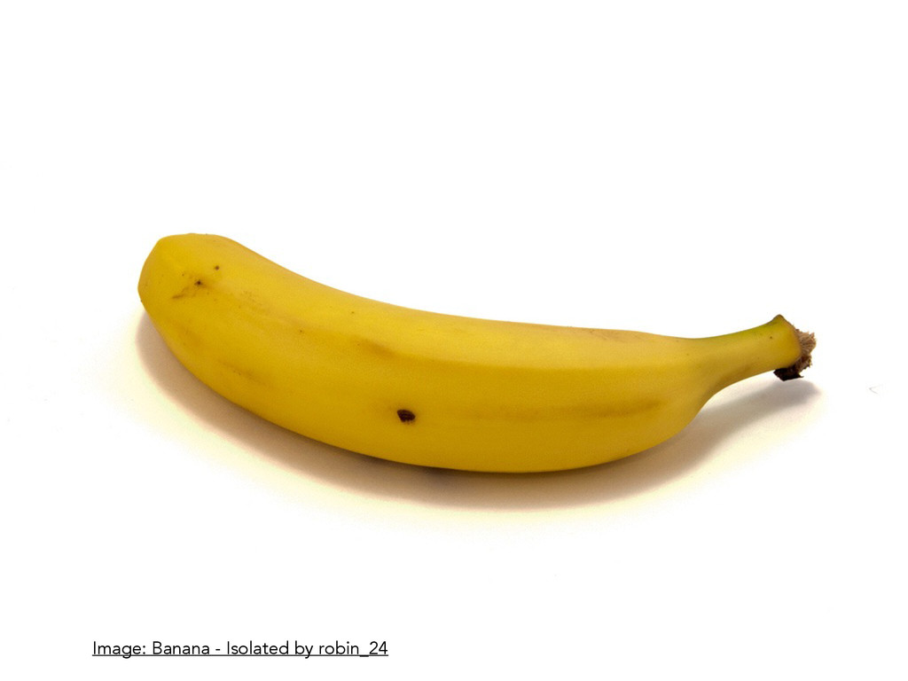 Image: Banana - Isolated by robin_24