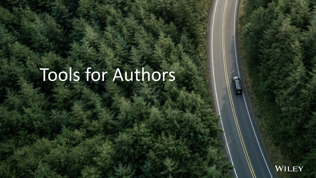 Tools for Authors