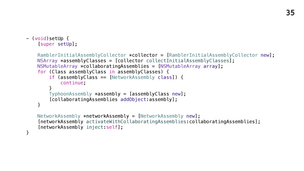 - (void)setUp { [super setUp]; RamblerInitialAs...