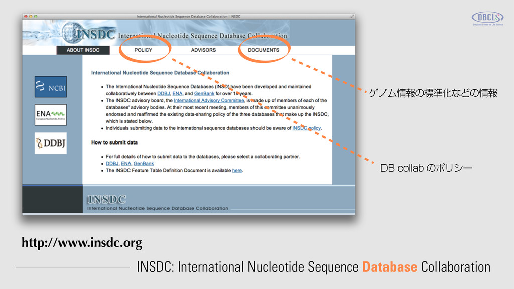 INSDC: International Nucleotide Sequence Databa...