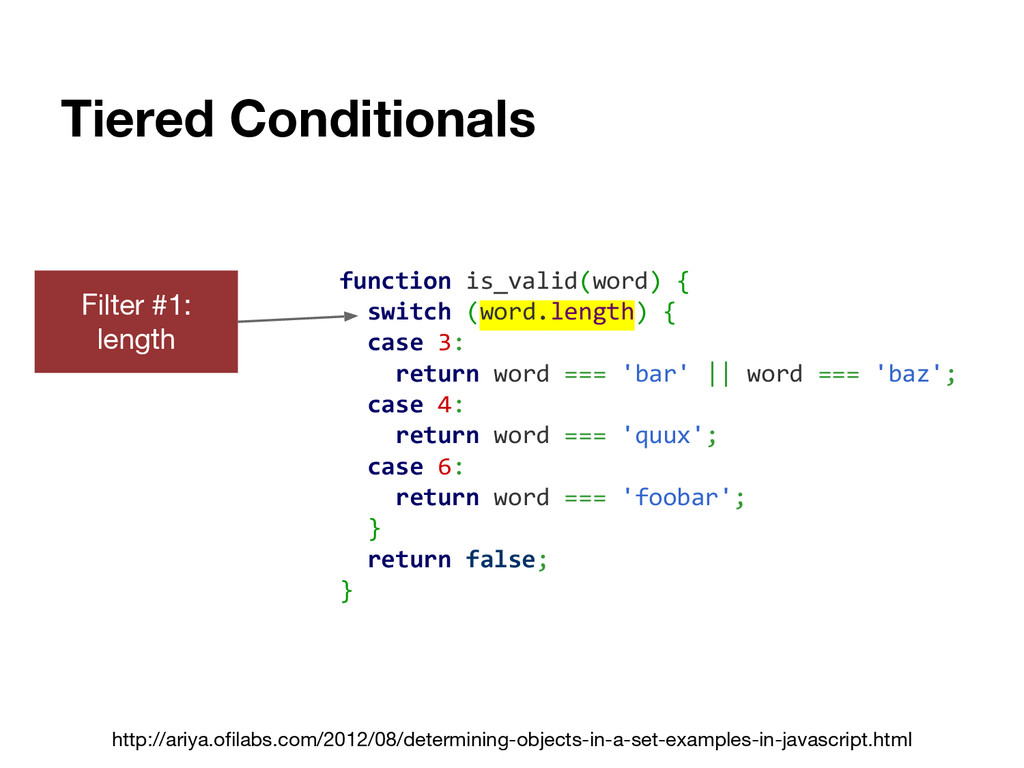 Tiered Conditionals http://ariya.ofilabs.com/20...
