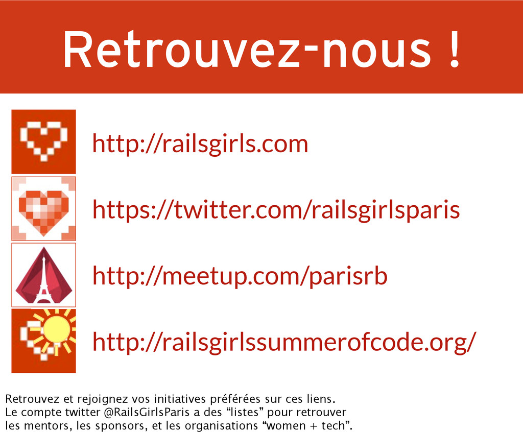 http://railsgirlssummerofcode.org/ https://twit...