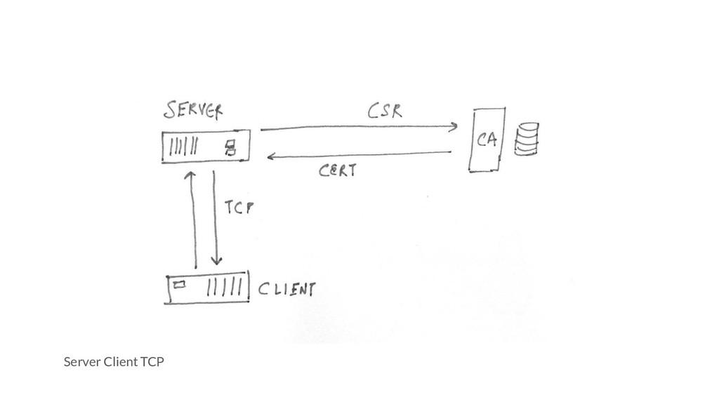 Server Client TCP