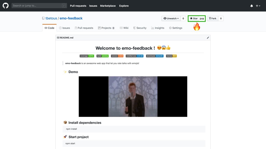 emo-feedback is an awesome web app that let you...
