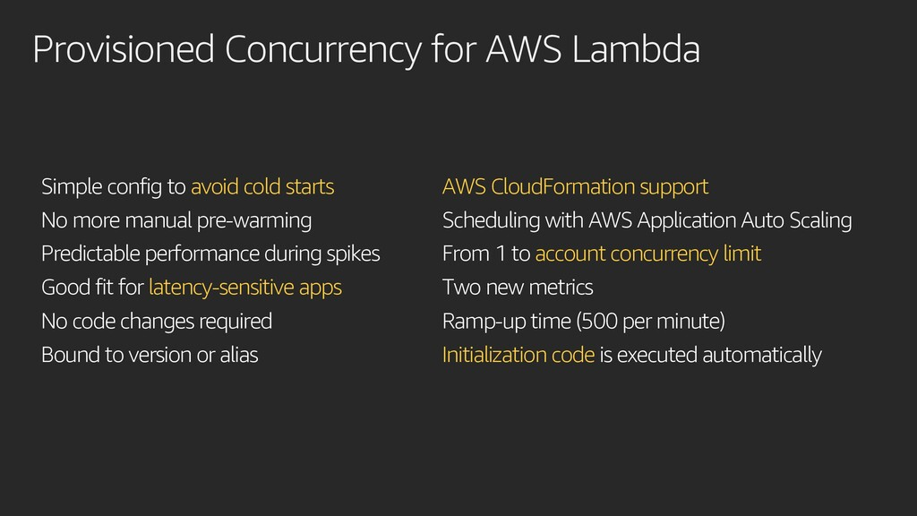 Provisioned Concurrency for AWS Lambda Simple c...