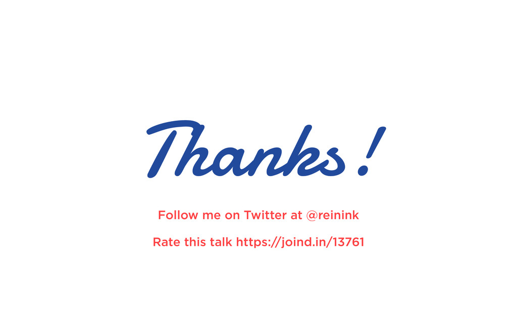 Thanks! Follow me on Twitter at @reinink Rate t...