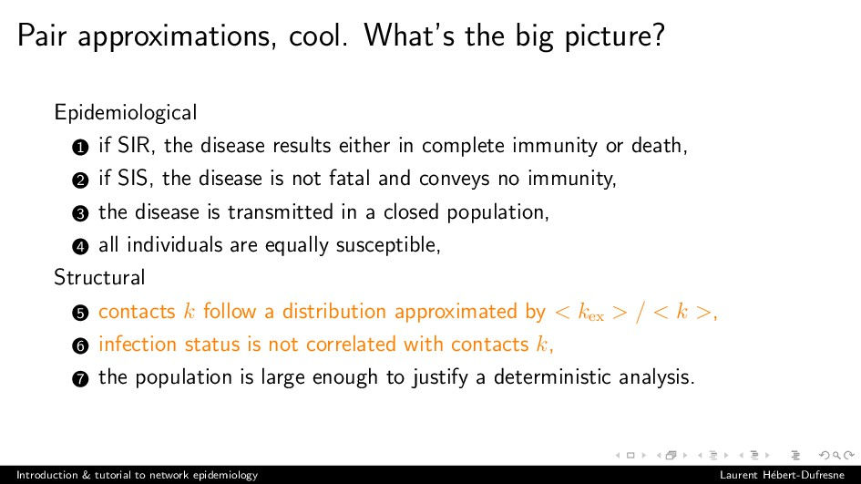 Pair approximations, cool. What's the big pictu...