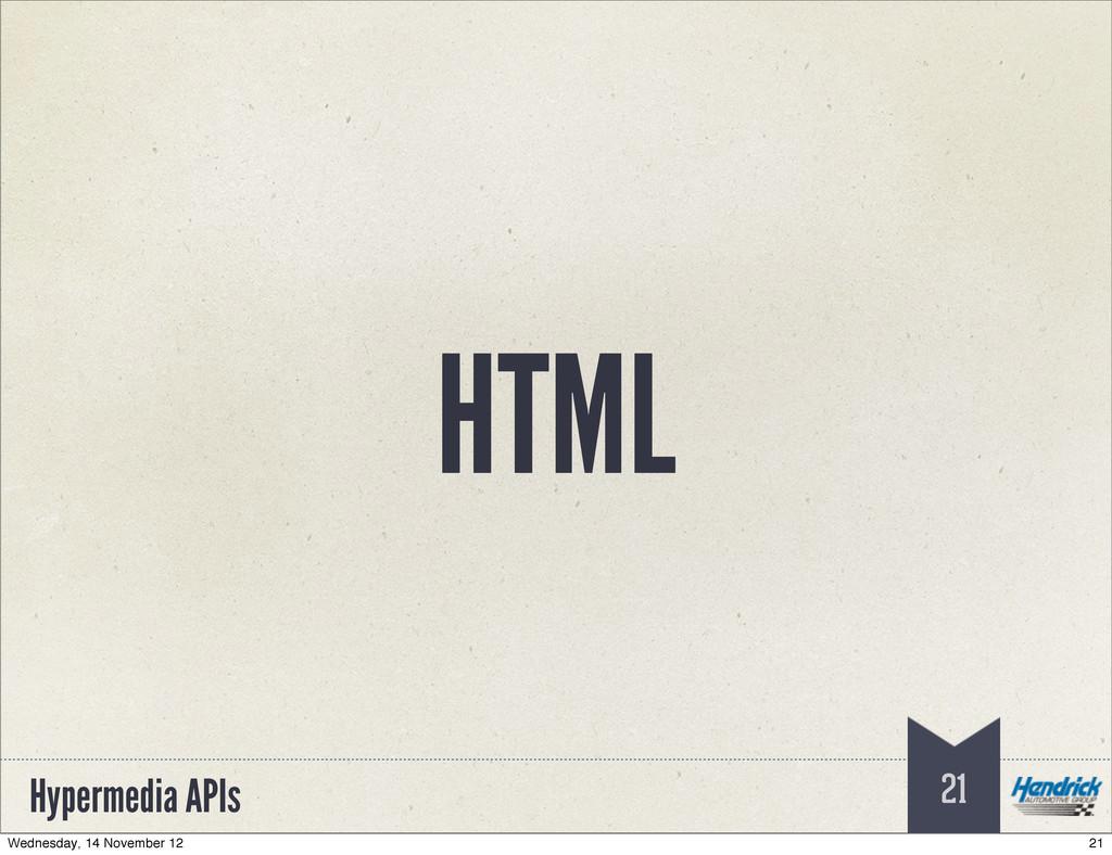 Hypermedia APIs HTML 21 21 Wednesday, 14 Novemb...