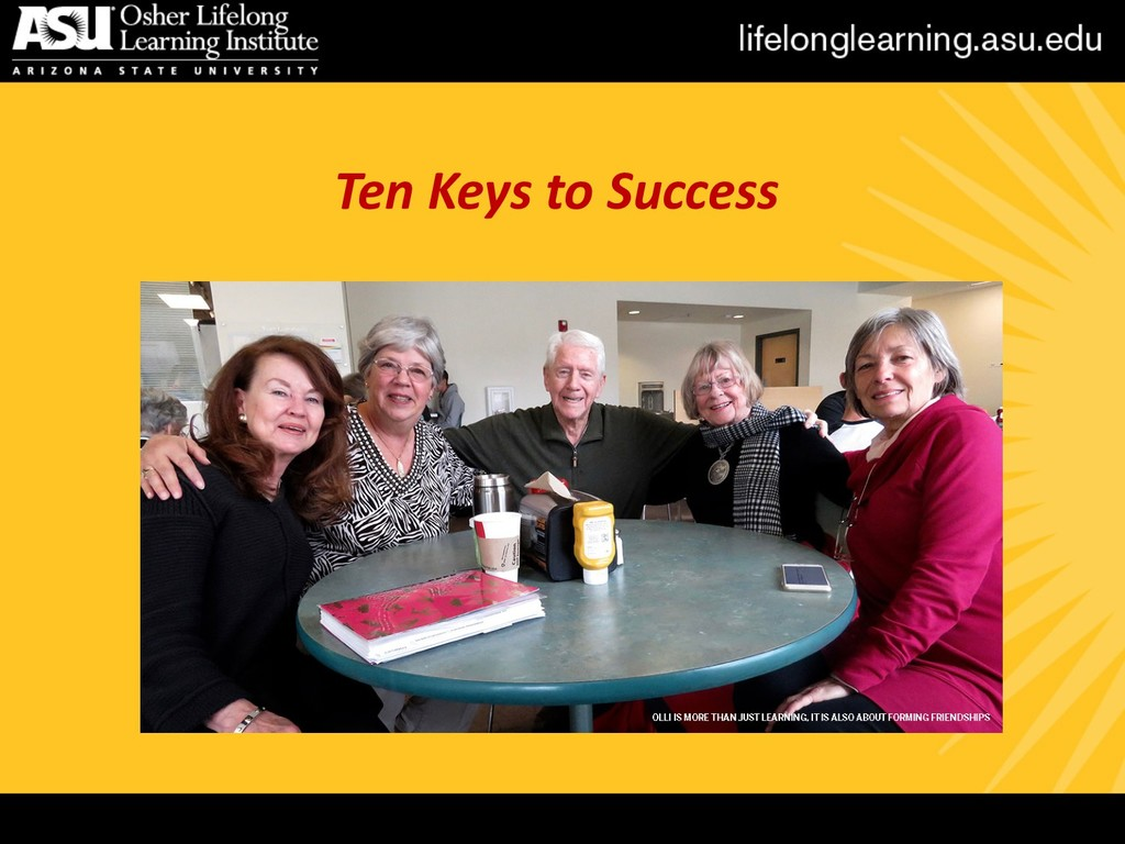 Ten Keys to Success
