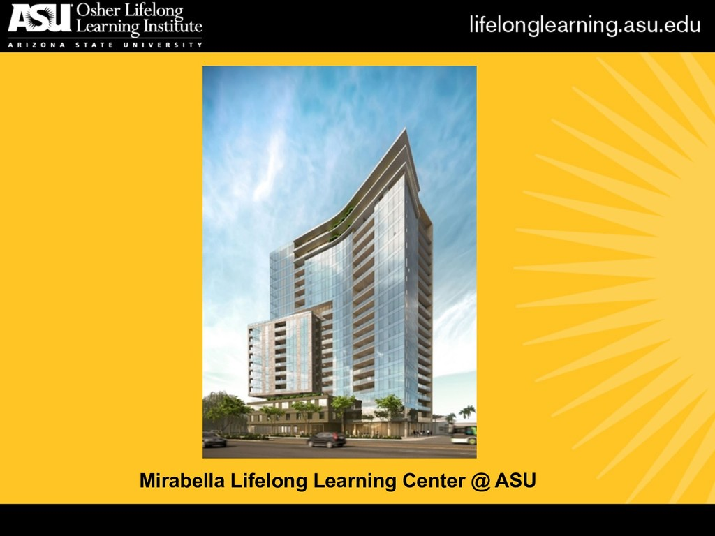 Mirabella Lifelong Learning Center @ ASU