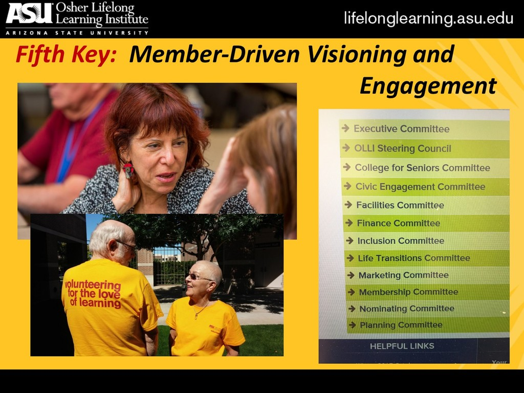 Fifth Key: Member-Driven Visioning and Engageme...
