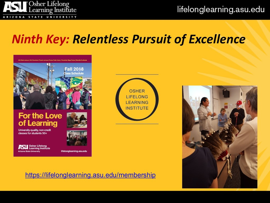 Ninth Key: Relentless Pursuit of Excellence htt...