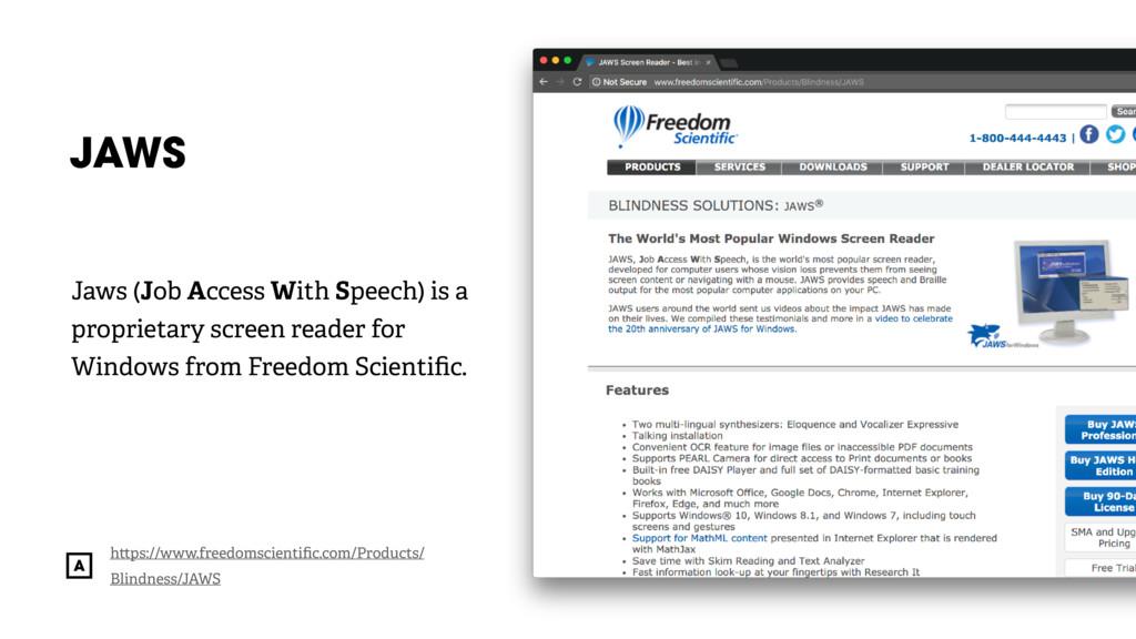 @radibit JAWS h ps://www.freedomscientific.com/P...