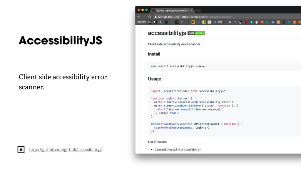 @radibit AccessibilityJS h ps://github.com/gith...