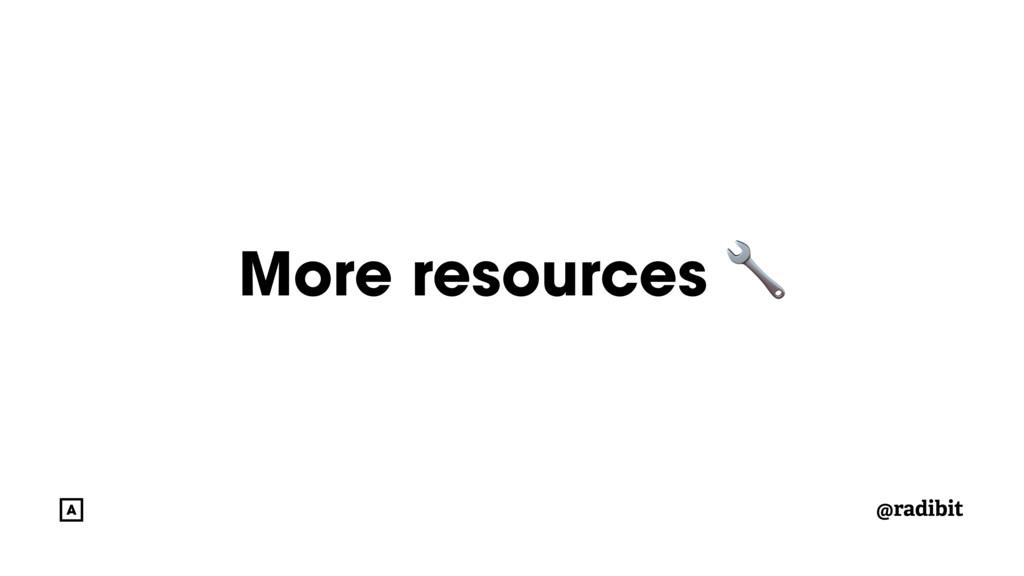 @radibit More resources