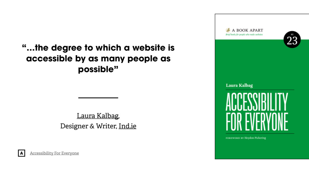 """@radibit """"…the degree to which a website is acc..."""