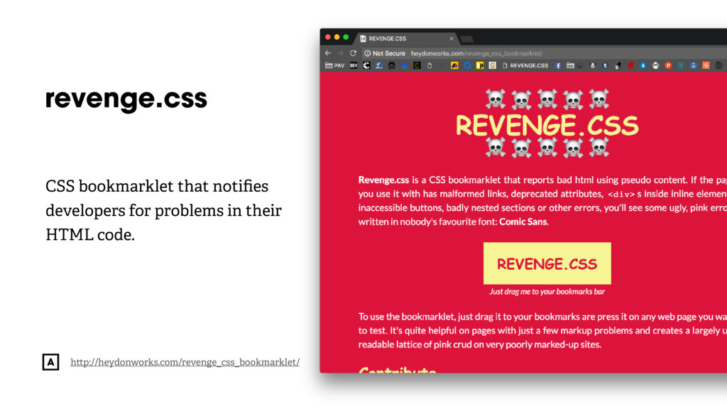 @radibit revenge.css h p://heydonworks.com/reve...