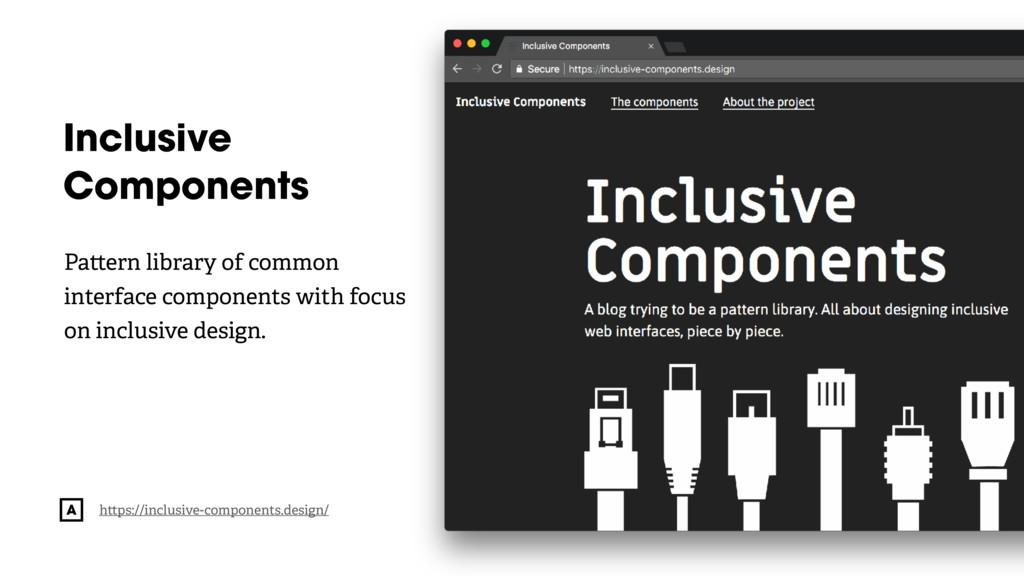 @radibit Inclusive Components h ps://inclusive-...