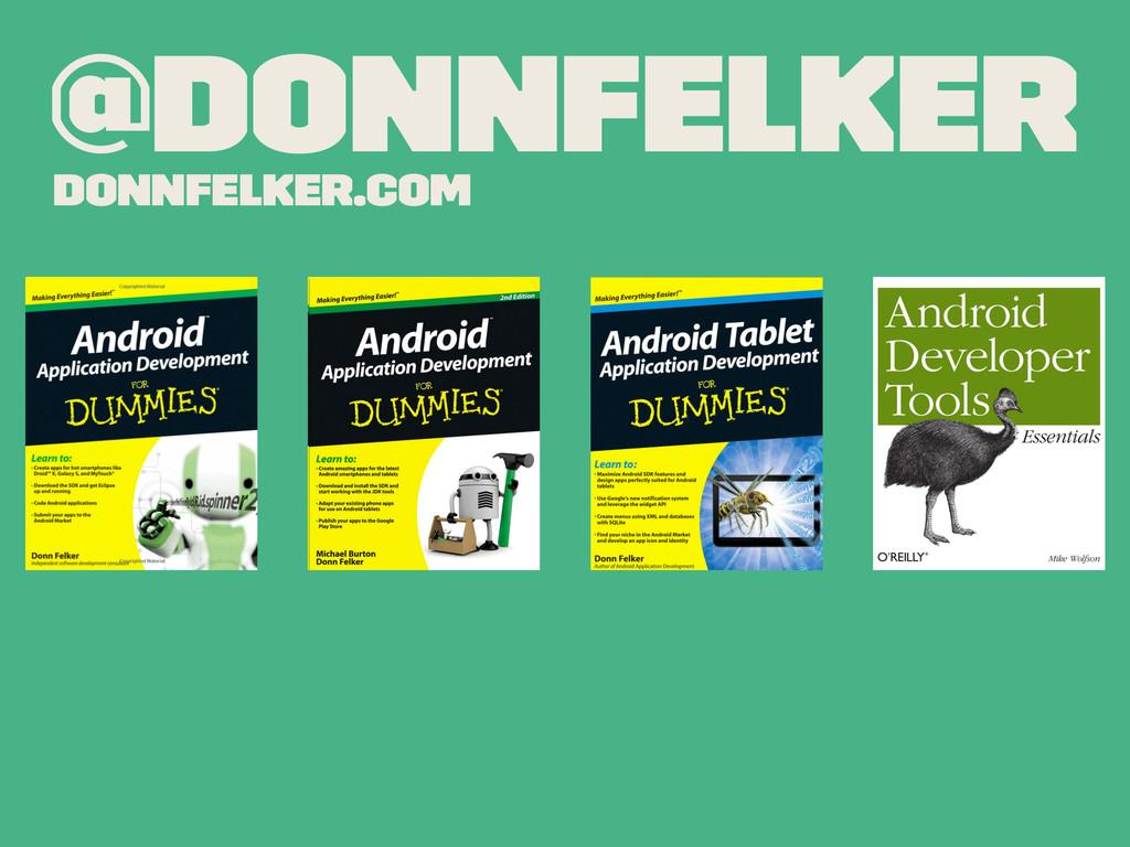@donnfelker donnfelker.com