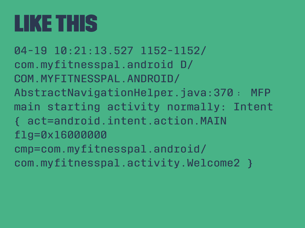 Like This 04-19 10:21:13.527 1152-1152/ com.myfi...