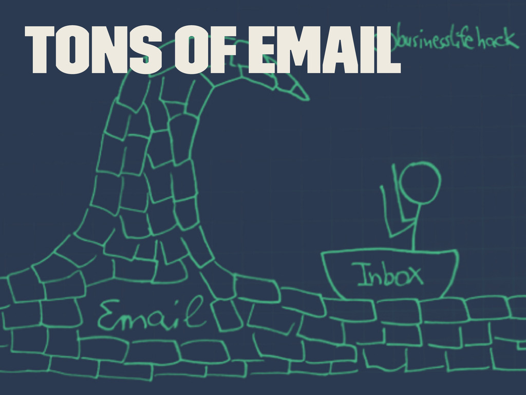 Tons of Email