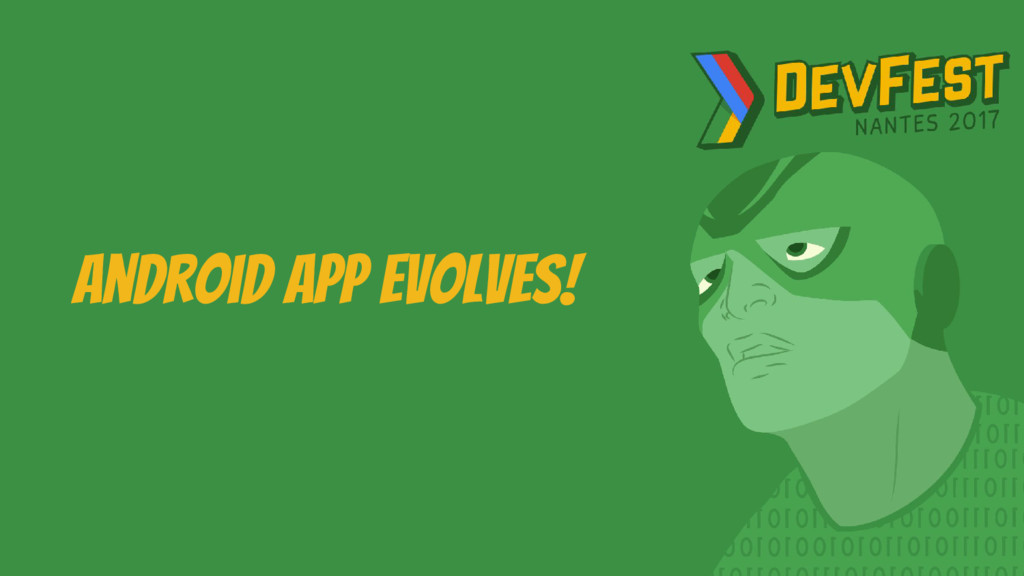 Android App evolves!
