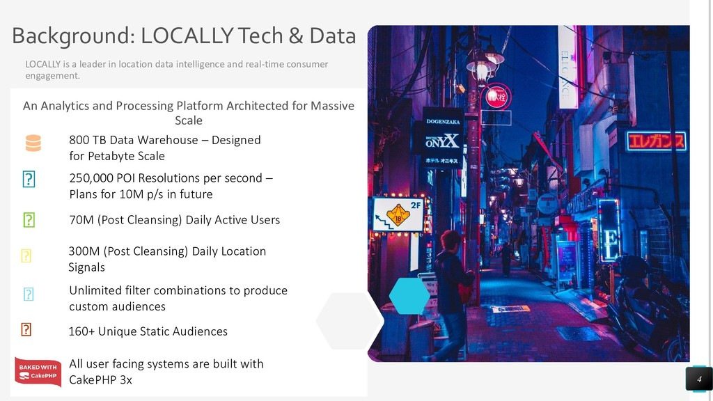 Background: LOCALLY Tech & Data LOCALLY is a le...