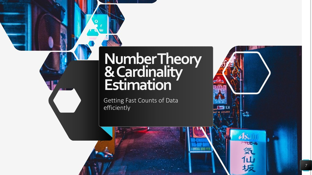 Number Theory & Cardinality Estimation Getting ...