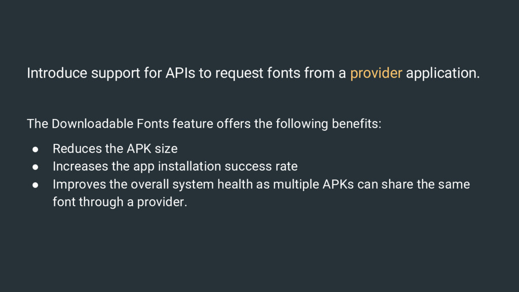 Introduce support for APIs to request fonts fro...