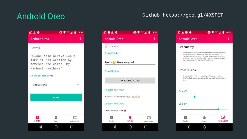Android Oreo Github https://goo.gl/4XSPGT