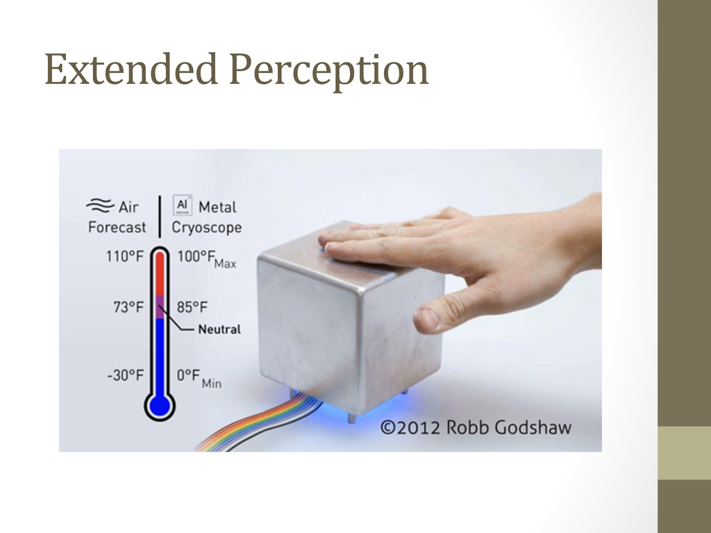 Extended Perception • Cryoscope