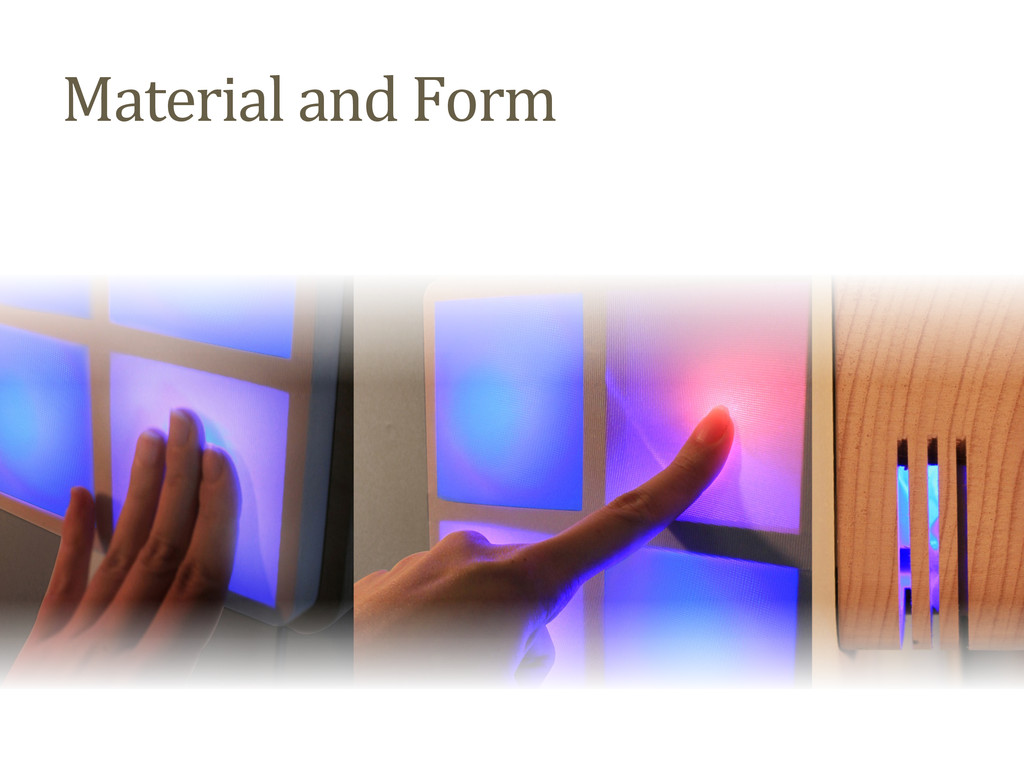 Material and Form