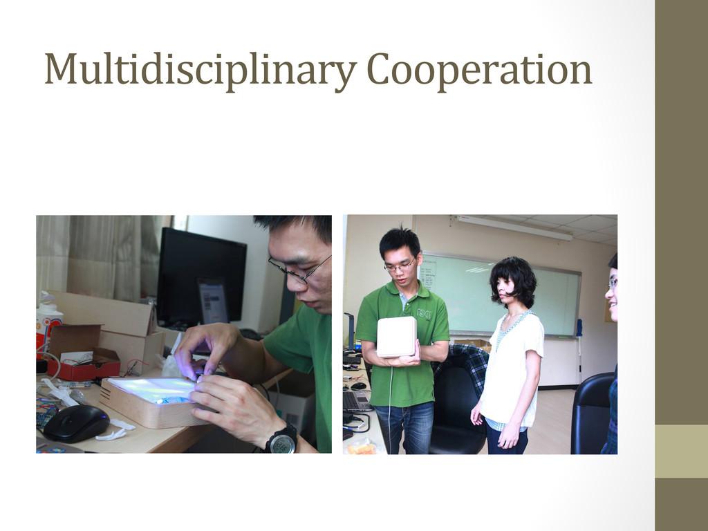 Multidisciplinary Cooperation