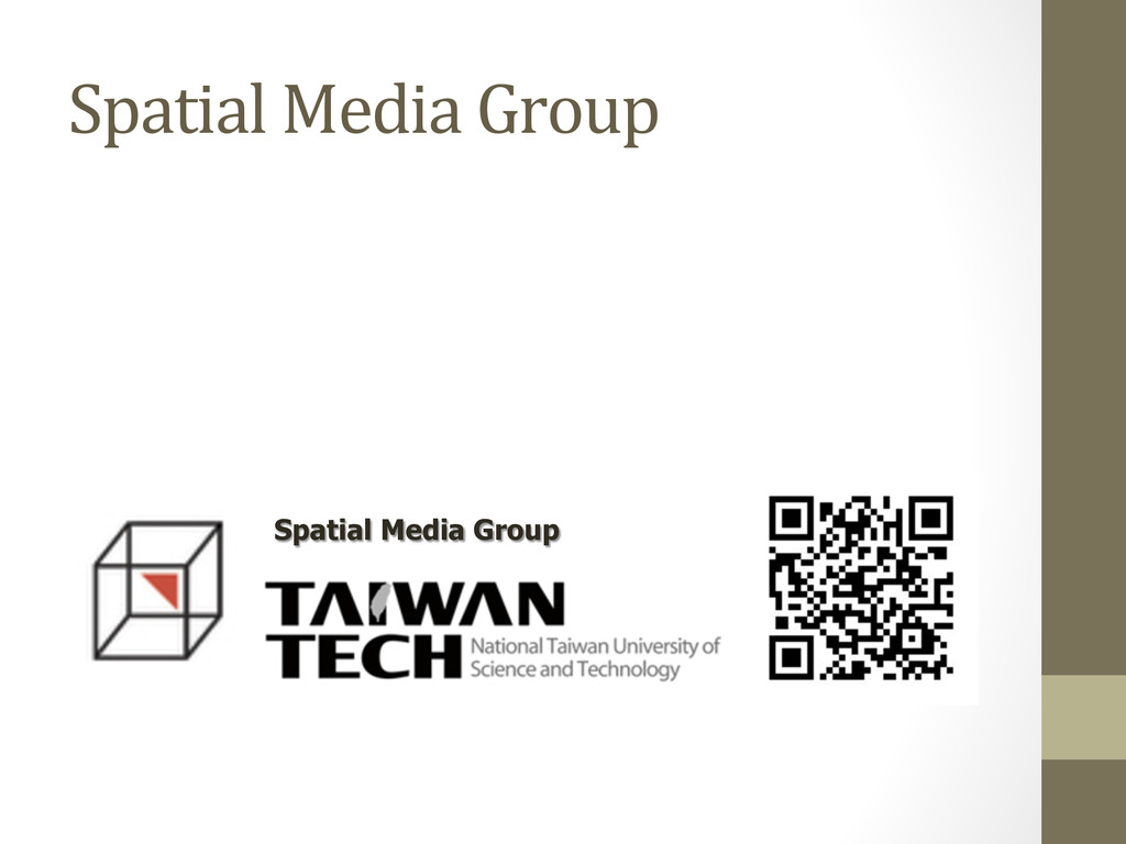 Spatial Media Group Spatial Media Group