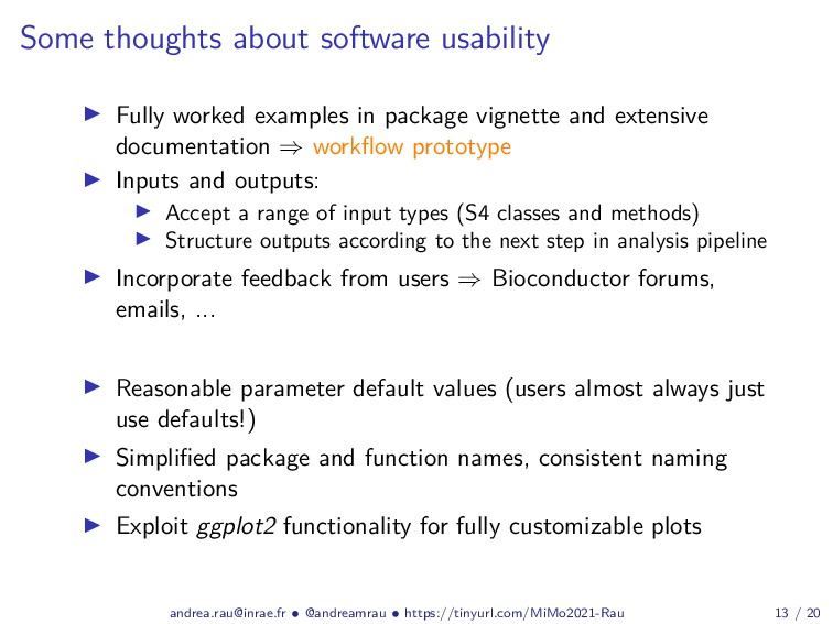 Some thoughts about software usability Fully wo...