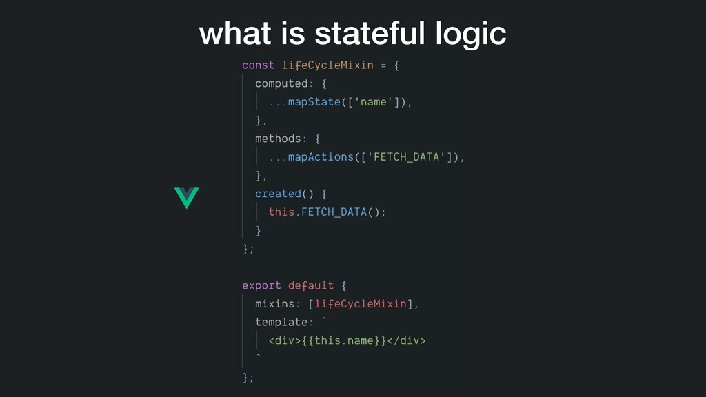 what is stateful logic