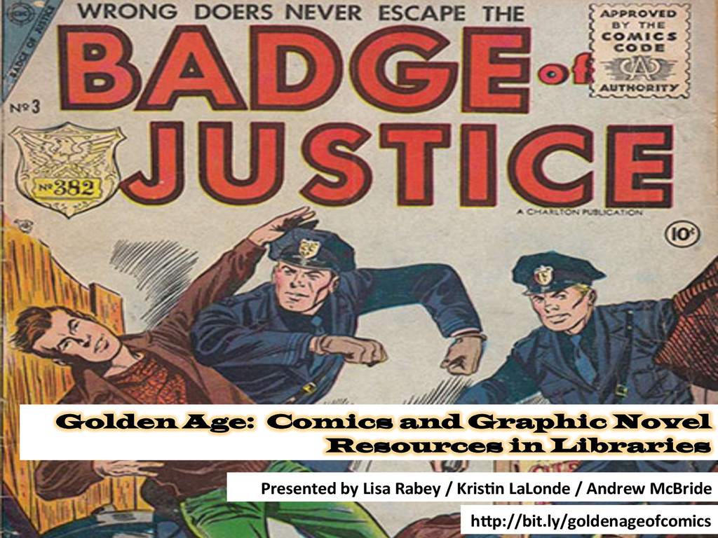 Golden Age: Comics and Graphic Novel Resources ...