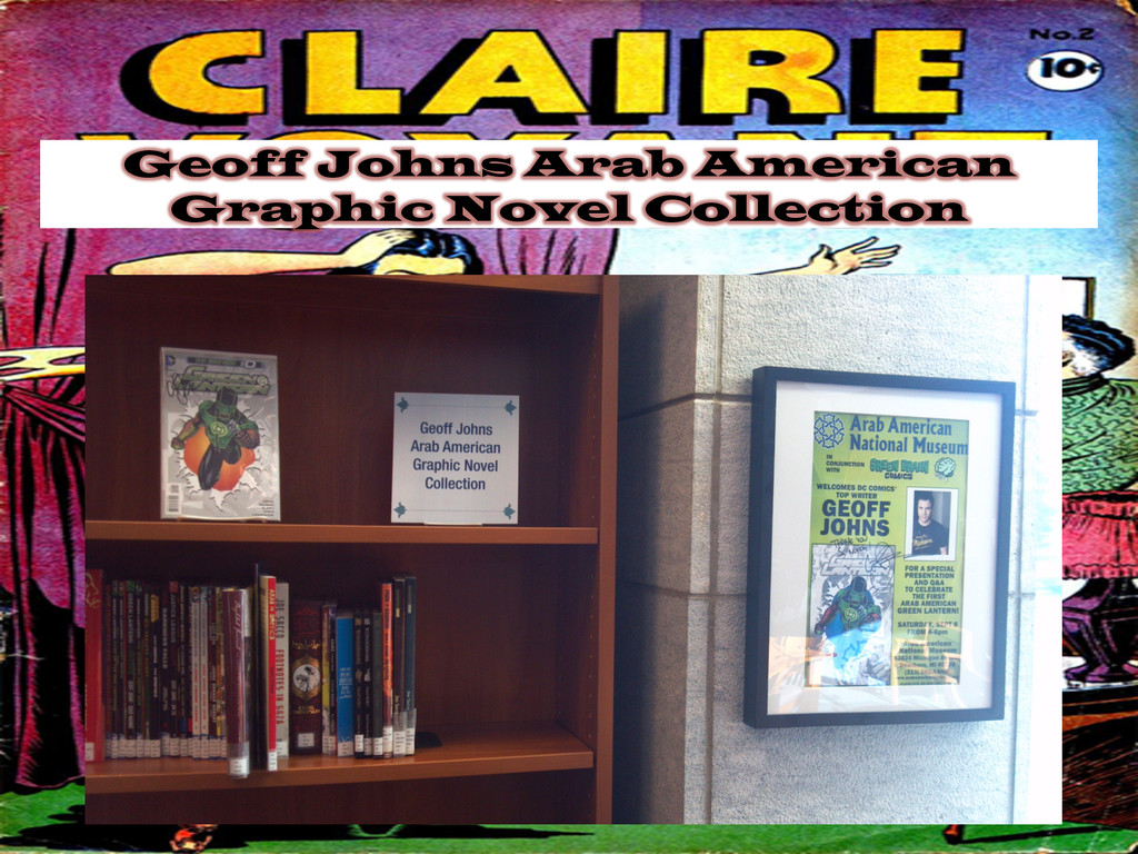 Geoff Johns Arab American Graphic Novel Collect...