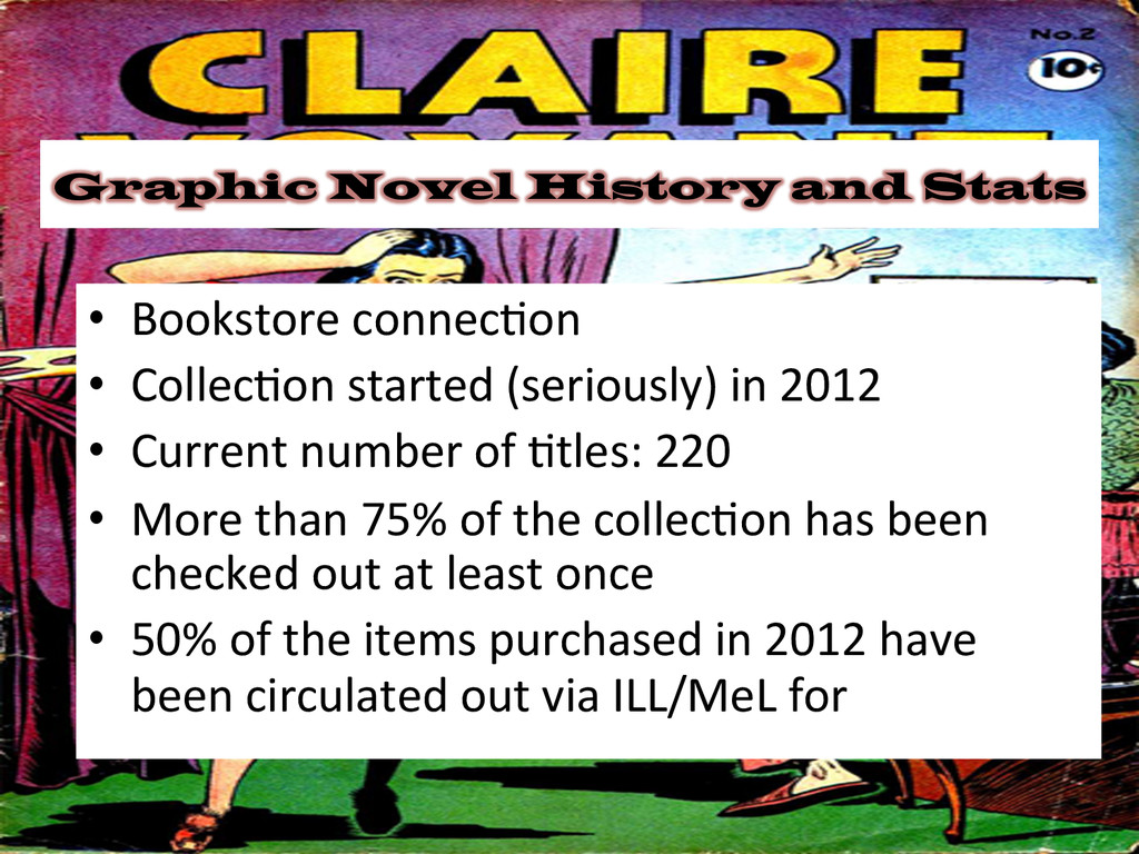 Graphic Novel History and Stats • Bookstore ...