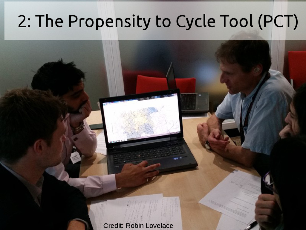 2: The Propensity to Cycle Tool (PCT) Credit: R...