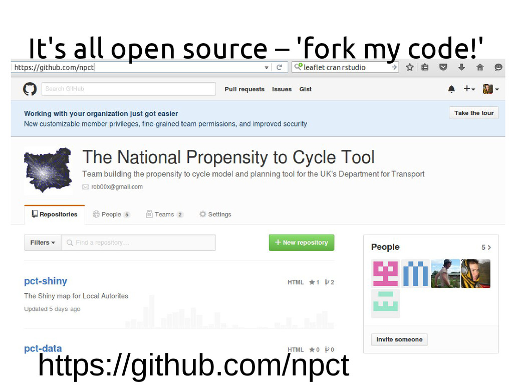 It's all open source – 'fork my code!' https://...