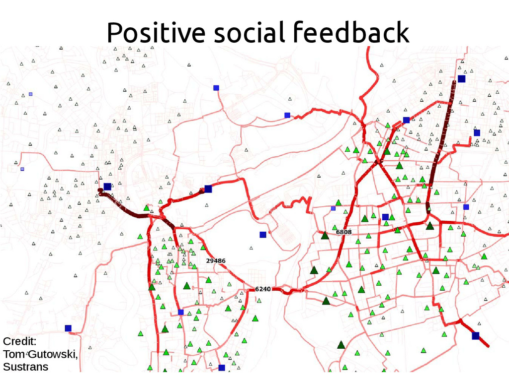 Positive social feedback Credit: Tom Gutowski, ...