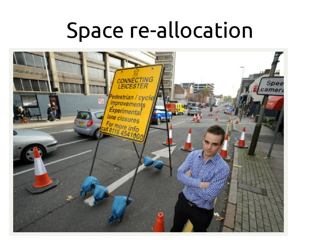 Space re-allocation