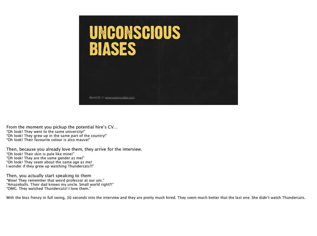 @antz29 /// www.wisenoodles.com UNCONSCIOUS BIA...