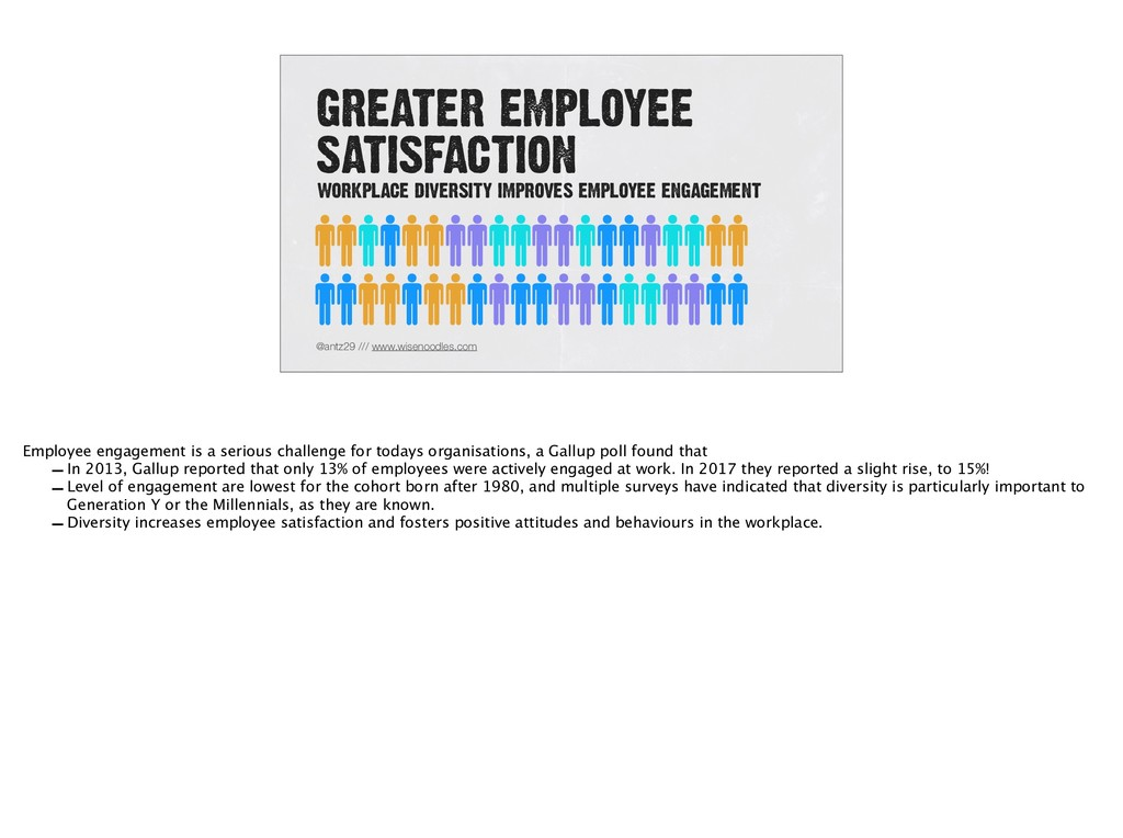 GREATER EMPLOYEE SATISFACTION @antz29 /// www.w...