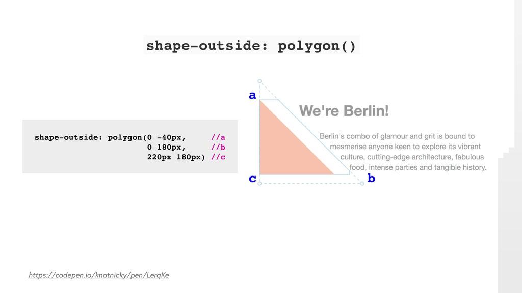 https://codepen.io/knotnicky/pen/LerqKe shape-o...