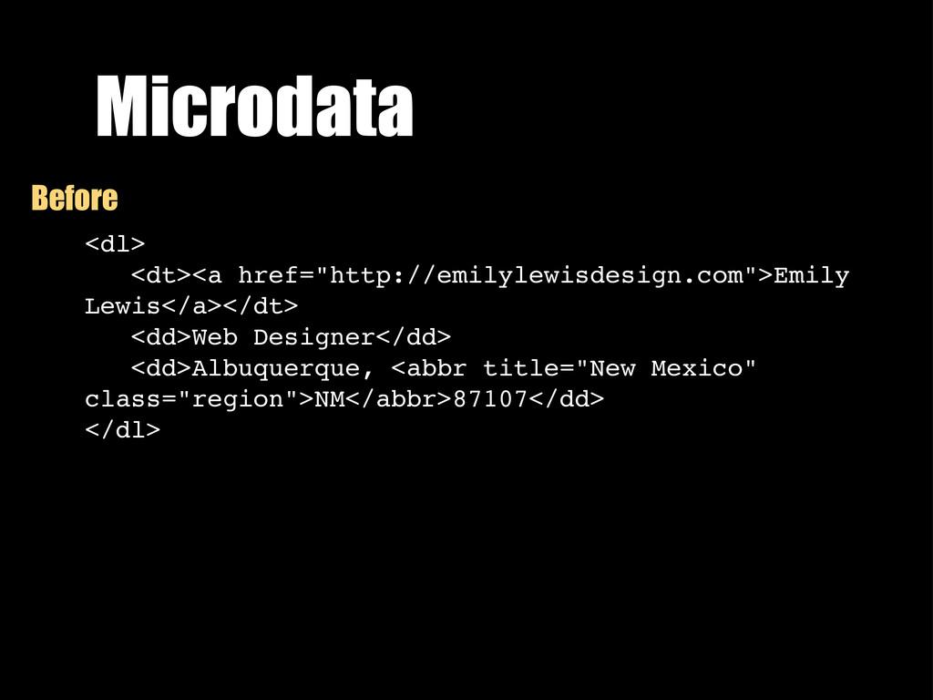 """Microdata <dl> <dt><a href=""""http://emilylewisde..."""